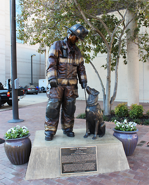 National Fire Dog Monument on Pet Life Radio