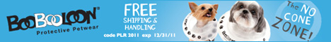 Free shipping with code PLR2011 at boobooloon.com