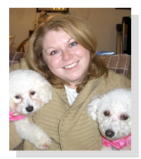 Christine Laethem, host of The Pampered Pooch on Pet Life Radio