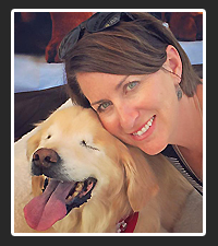 Joanne George and Smiley on Pet Life Radio