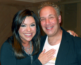 Mark Winter and Rachael Ray