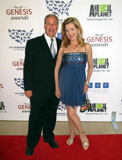 Mark Winter & Megan Blake at the 2012 Genesis Awards
