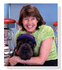 Micki Voisard, host of The Pet Chef