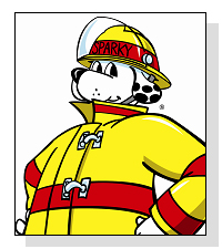 Sparky the Fire Dog on Pet Life Radio
