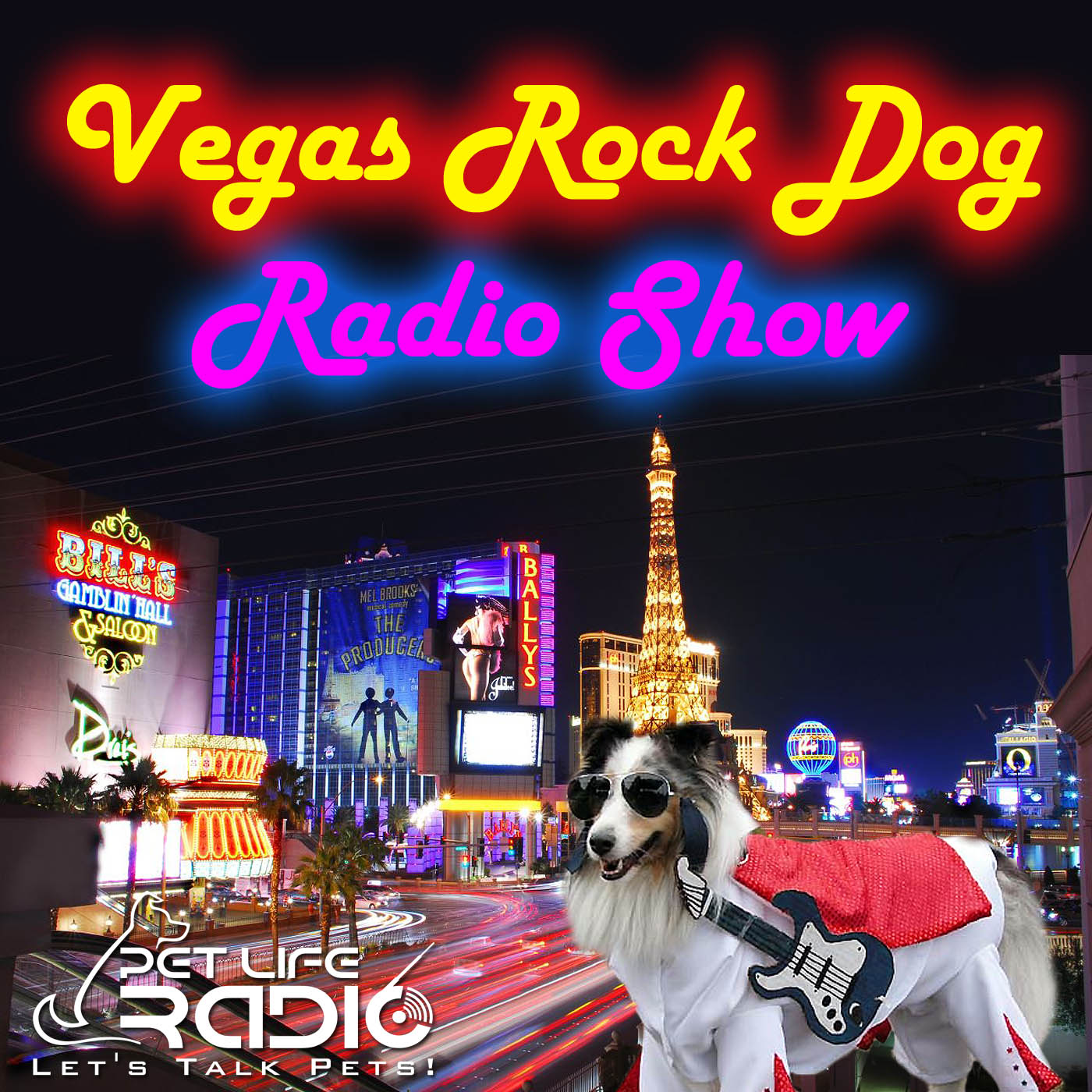 Vegas Rock Dog Radio Show on Pet Life Radio (PetLifeRadio.com)