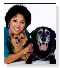 Bernadine D. Cruz, DVM, host of The Pet Doctor