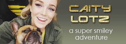 Caity Lotz on Pet Life Radio