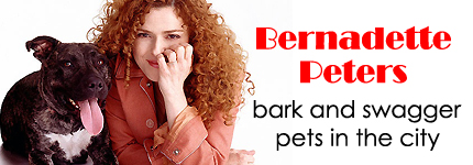 Bernadette Peters & Pets