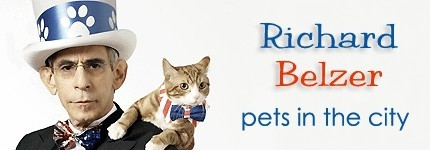 Richard Belzer & Pets