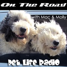 On the Road with Mac & Molly pet radio and podcast