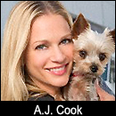A.J. Cook on A Super Smiley Adventure  on Pet Life Radio