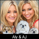 Aly & AJ on A Super Smiley Adventure  on Pet Life Radio