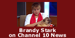 Brandy Stark on Channel 10 News